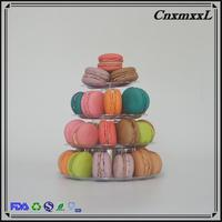 Incredible innovation in macarons pyramid display with high quality