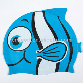 YG-107 cartoon funny swimming cap