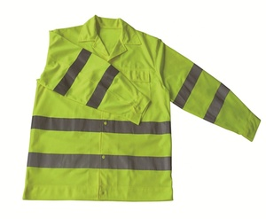 Wholesale Long Sleeve Hi Visibility Safety Work Shirt DFJ006