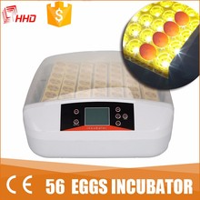 HHD high quality turkey egg incubator for 56 eggs automatic egg turner YZ-56S