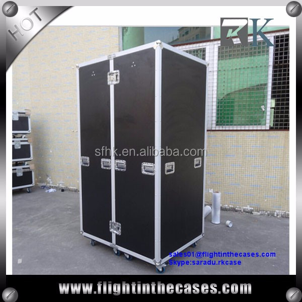 Portable Wardrobe Flight Case--1200W x 900D x 1820H