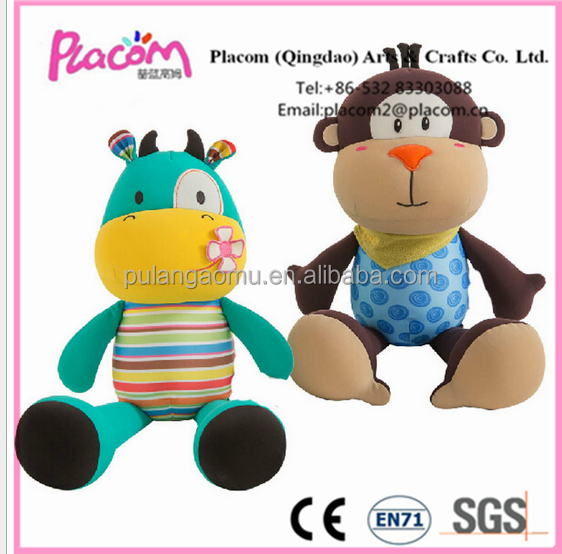 High quality Customize Cute Fashion Kid toys and Baby toys Wholesale Factory price Plush toys Monkey