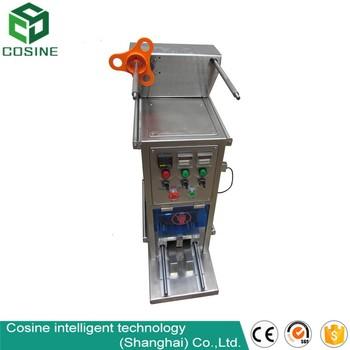 plastic lid sealing machine