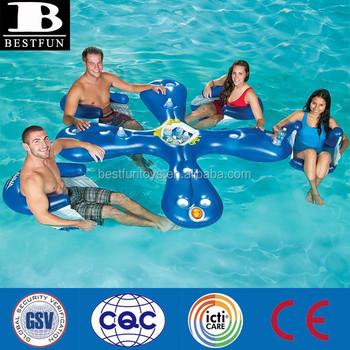 Fabrica Personalizada Inflable Flotante Bares Para Piscinas Piscina