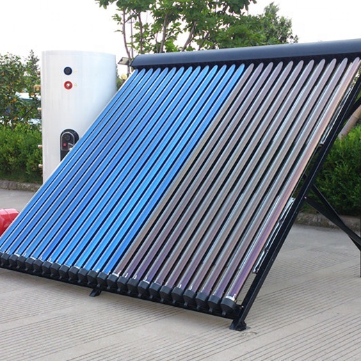 Solar Keymark approved Heat pipe vacuum tube solar collectors solar heating system