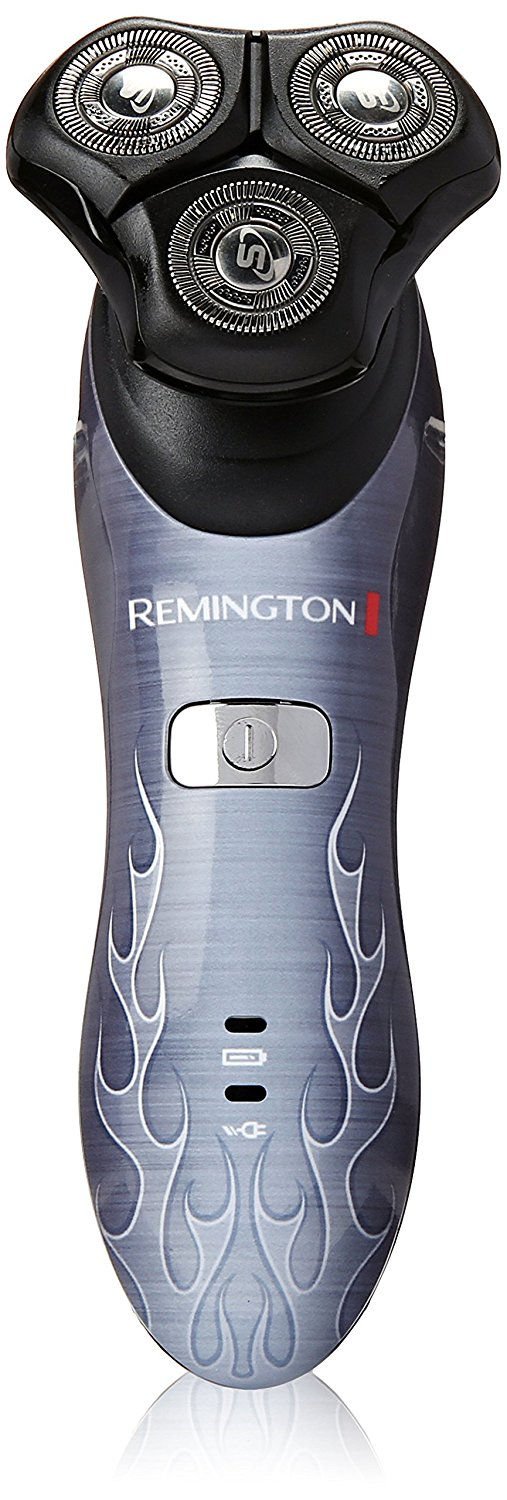 Remington Products Lithium Powered Rotary Shaver, Road Warrior, XR1340REBL