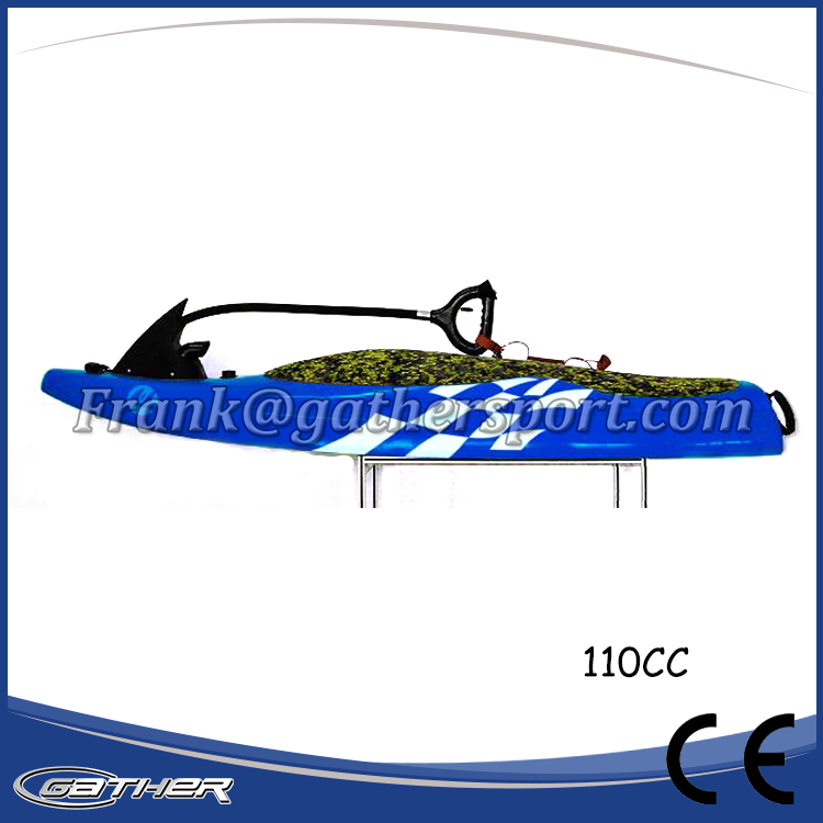 Gather hot sale renting model,110cc Power jetboard ,surfboard,motorized surfboards for sale