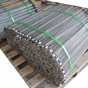 304 Stainless Steel Chain Link Balance Wire Mesh Conveyor Belt