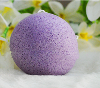 100% konjac face washing sponge face cleaner cosmetic tools skin care tools