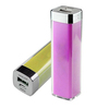 Lipstick power bank 2000mAh for promotional gift,custom color mini power bank pack