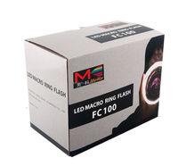 Fc-100 Meike Macro Led Ring Flash/speedlite Light With Lens ...