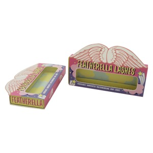 Cheap Wholesale Lively Flash Eyelash Packaging Box Promotional Printing High Quality Custom Eyelash Box