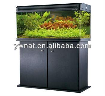 Aquarium Fish Tank With Filter Lamp And Cabinet