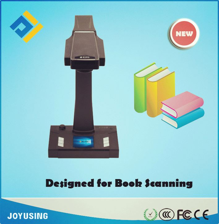 High resolution 10M 16M A3 A4 book scanner and automatic photo scanner