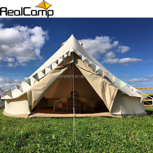 2017 luxury safari tent durable yurt tent canvas 6m tent for sale