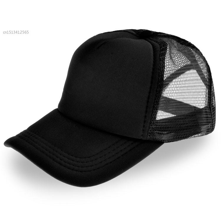 c2e346ff3e9 Get Quotations · men and women mesh cap DIY logo sun hat solid color travel hat  baseball cap blank