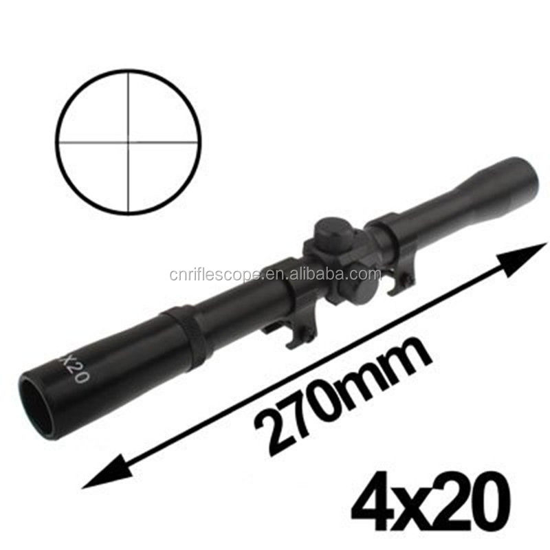 4X20 WA riflescope di Caccia 4x20 Scope Monti Telescopico Scope per. 22 caliber fucili o Aria pistole