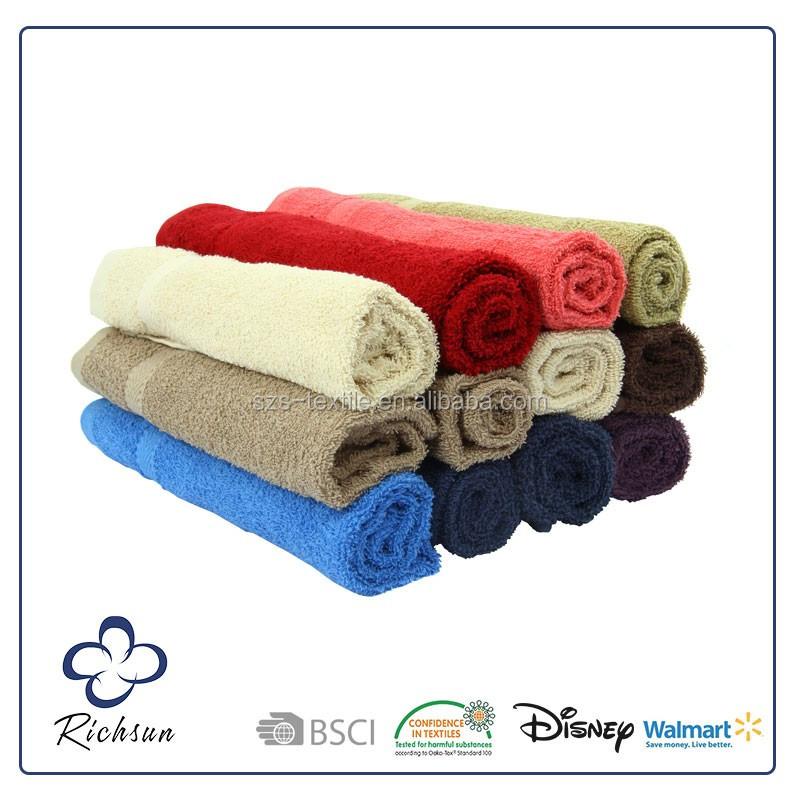 chine fabricants en gros pas cher 100% coton serviette de bain