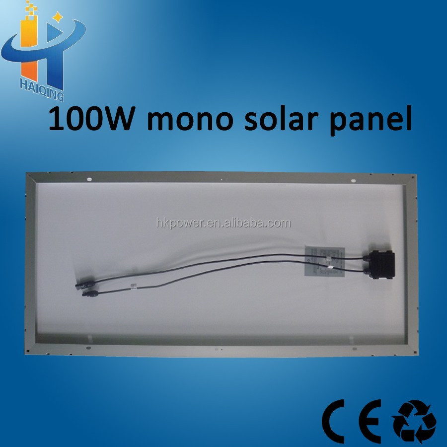 ground 100w solar panel mounting structure aluminium solar power kit