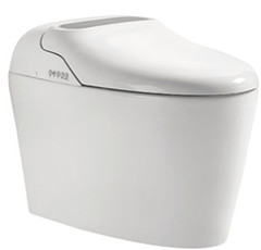 sanitary ware ceramic vacuum flush system smart toilet for sale