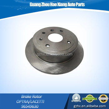 Auto Car Accessories Rear Disc Brake Rotor For Chevrolet Optra