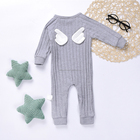 Wholesale Monogrammed Baby Back Angel Wings Clothing Jumpsuit Romper