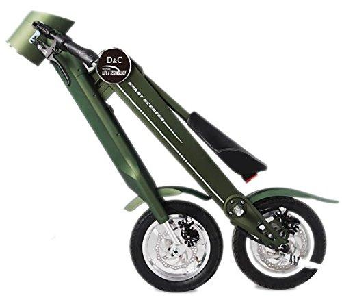 Ηλιακό αναδιπλούμενο ηλεκτρικό ποδήλατο