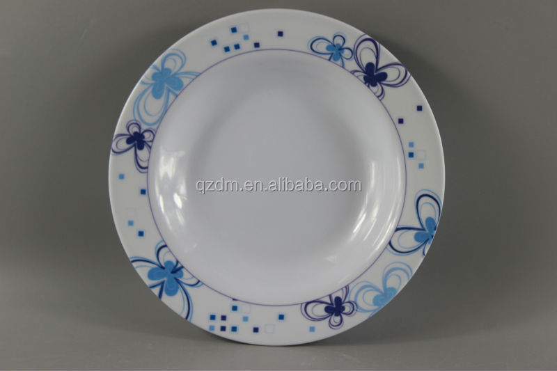 Round Melamine Deep Plates And Dishes For India
