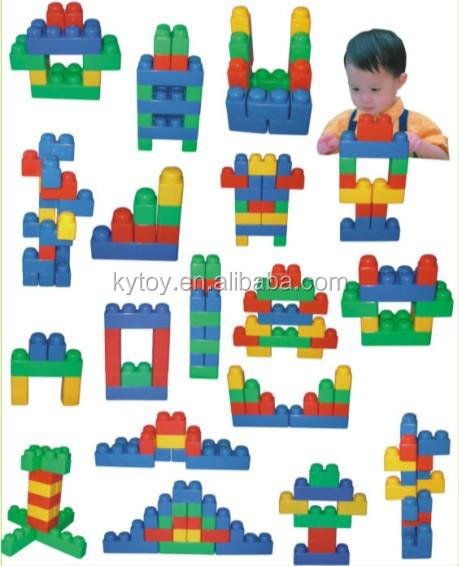Funny Plastic Building Blocks Toys For Kids Plastic