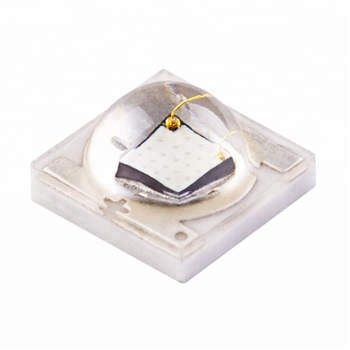 factory wholesale ceramic  high power led 1W 3W SMD3535 Green led diode  for traffic light green 495-505nm