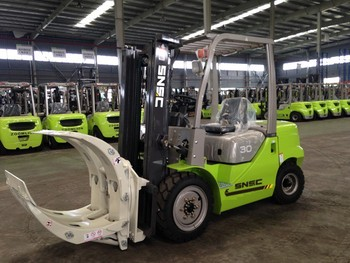 Snsc Fd 30 Diesel Forklift With Paper Roll Clamp - Buy Fd 30 Diesel  Forklift,Paper Roll Clamp Forklift,Forklift With Clamp Product on  Alibaba com