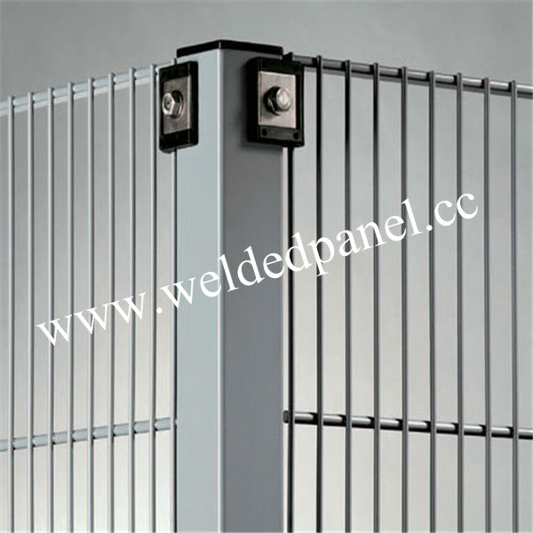 Anping Pvc Double Wire Welded Mesh Fence 8/6/8 Double Wire Fence ...