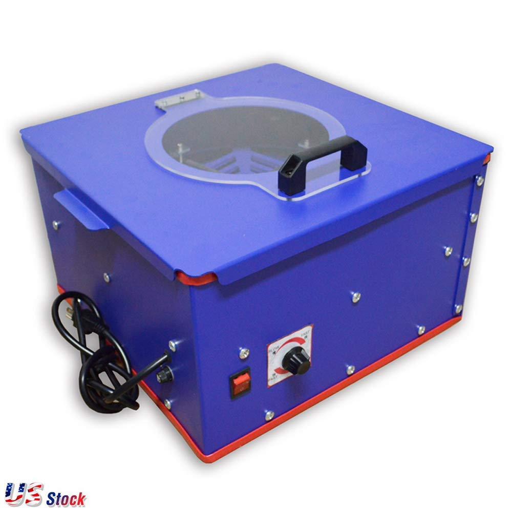 """110V Pad Printing Electric Emulsion Coating Machine Suitable Steel Plate Size:3.5""""-6.29"""" - US Stock"""