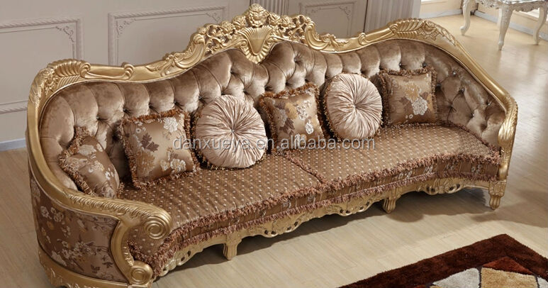 DanXueYa Russian style furniture ornate bedroom furniture high