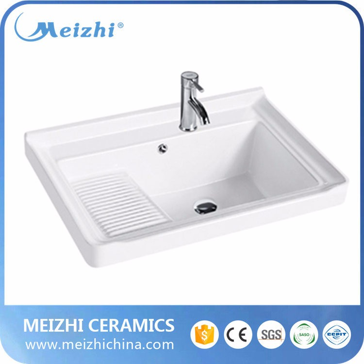 Ceramic bathroom wash basin sizes in inches