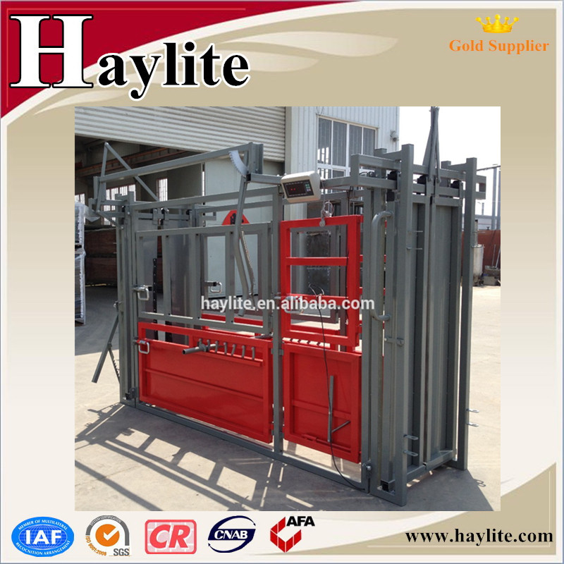 Heavy duty used cattle corral gate panel cattle crush