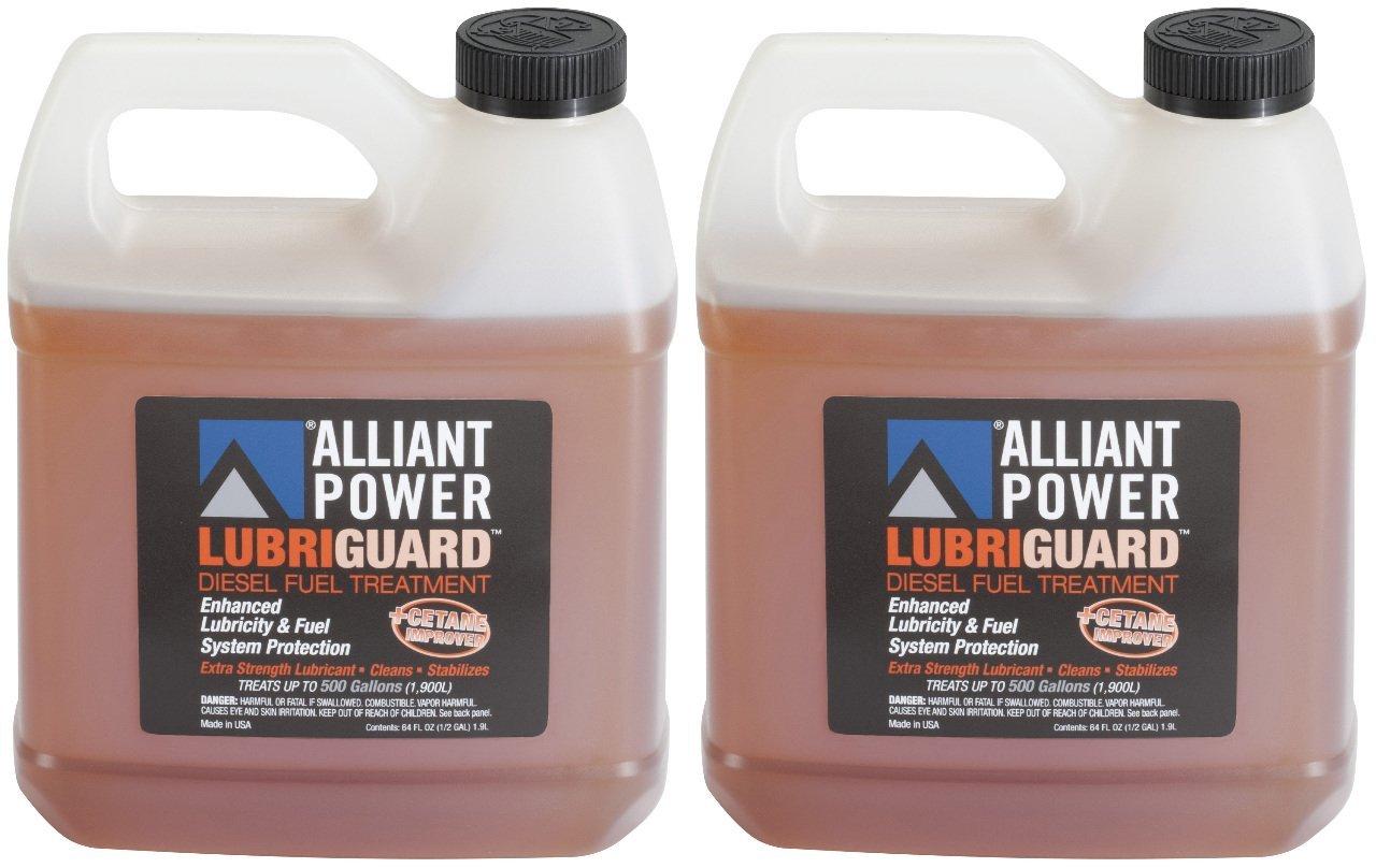 Alliant Power LUBRIGUARD Diesel Fuel Treatment - 2 Pack of 1/2 Gallons # AP0511