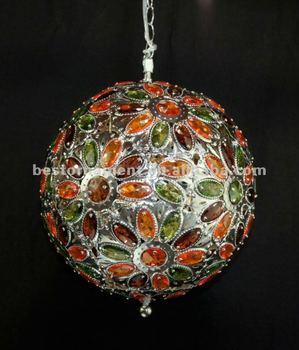 globe acrylic beaded chandelier buy beaded