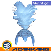 likable feather mask for dress party ---China supplier1104-1