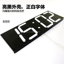 Full color hot selling product prayer led wall clock digital for home decorative use