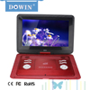 manufacture wholesale OEM nice quality USB TV GAME DOWIN FL-2188 15.4 Inch Portable DVD Player With 5 Hour Rechargeable Battery
