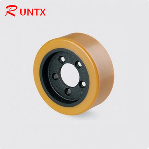 Factory Price PU Forklift Friction Drive Wheel