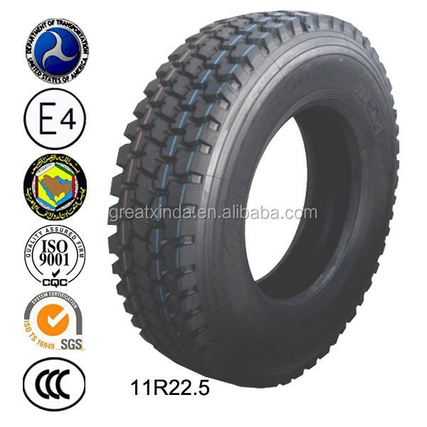 > 255mm Width and ECE Certification 11r22.5 Japan Truck Tyre