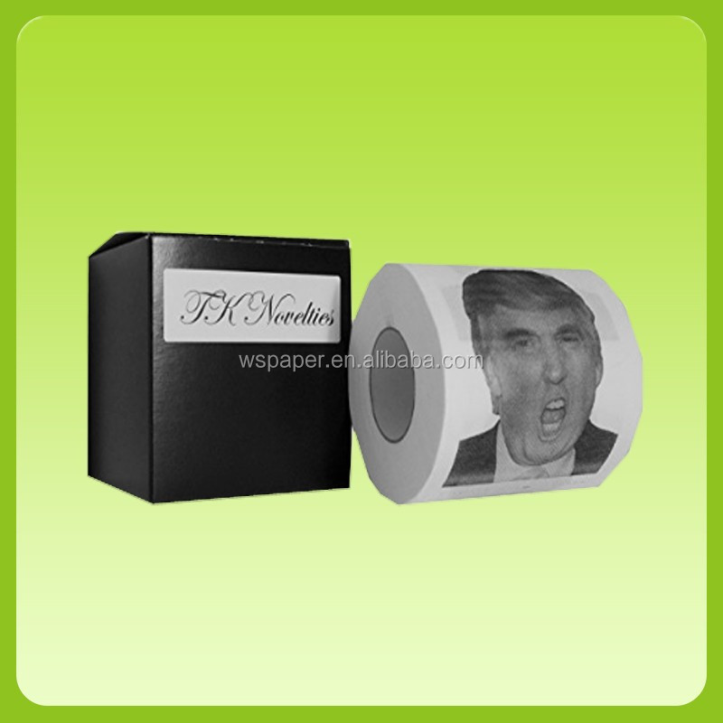 Factory bulk sale Donald Trump Printed Toilet Paper