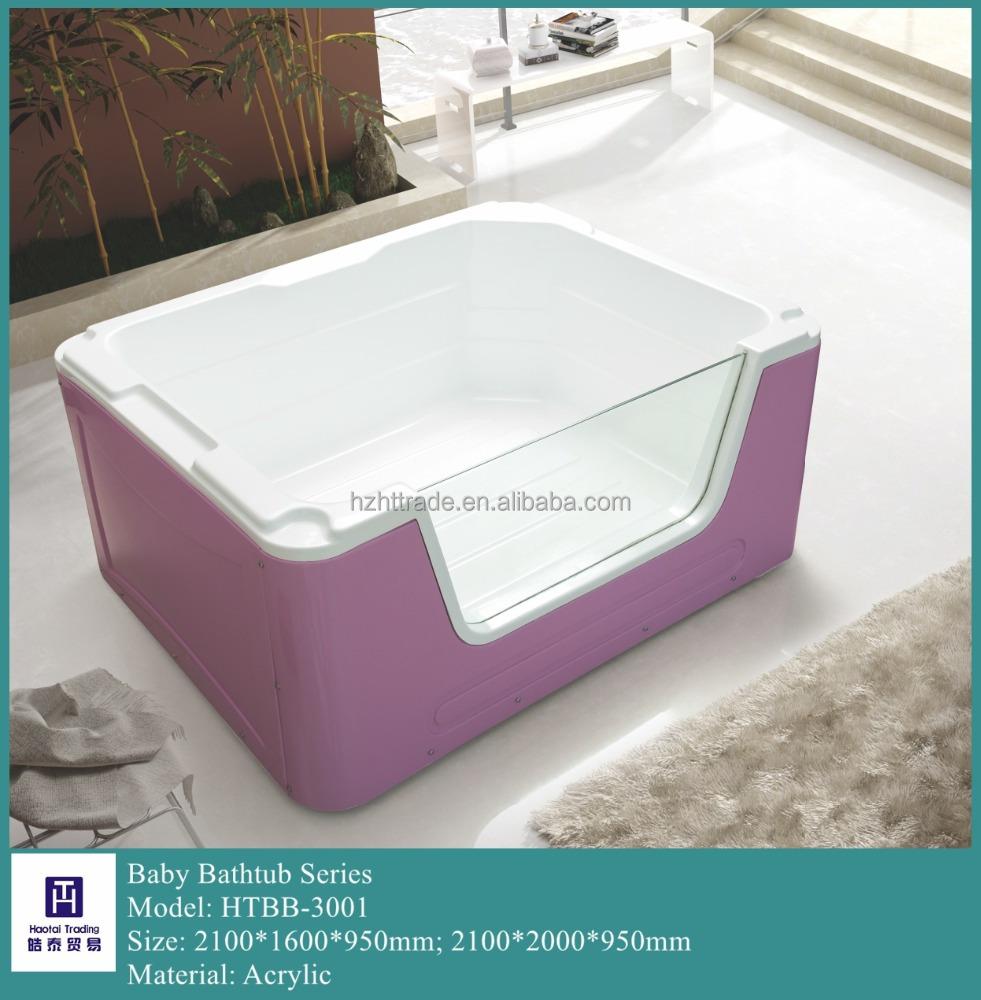 Sanitary Ware Light Whirlpool Spa Whirlpool Baby Use Massage Bathtub ...