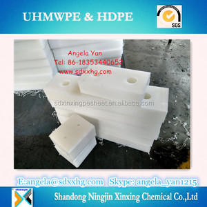 wear resistant uhmw natural white block/plastic Spacer Block manufacturer