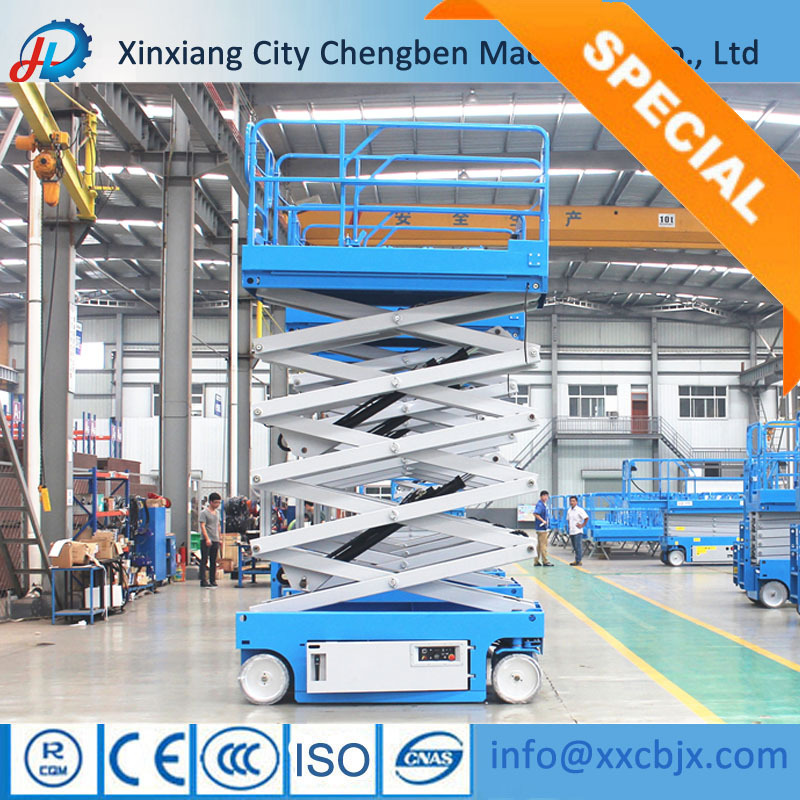 Super Manufacturing Top Brand Small Electric Scissor Lift