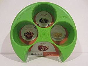 Nutrisystem Meal Measure Food Portion Control for Weight Loss Diet GREEN by Nutrisystem