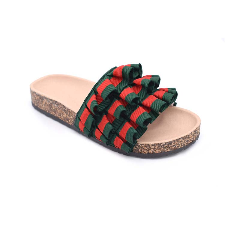 enjoy big discount best sell best wholesaler Hot Sell Summer Sandals Islander Jesus Sandals Fashion Personalized Cork  Ribbon Ruffle Slippers - Buy Hot Sell Summer Sandals,Islander Jesus ...