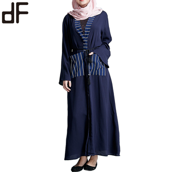 islamic abaya dubai dropshipping arab ladies caftan kaftan blue kimono long abaya turkish ladies clothing women muslim abaya